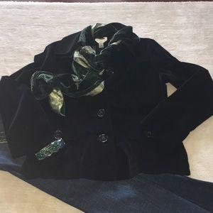 Talbots Classic Black Jacket